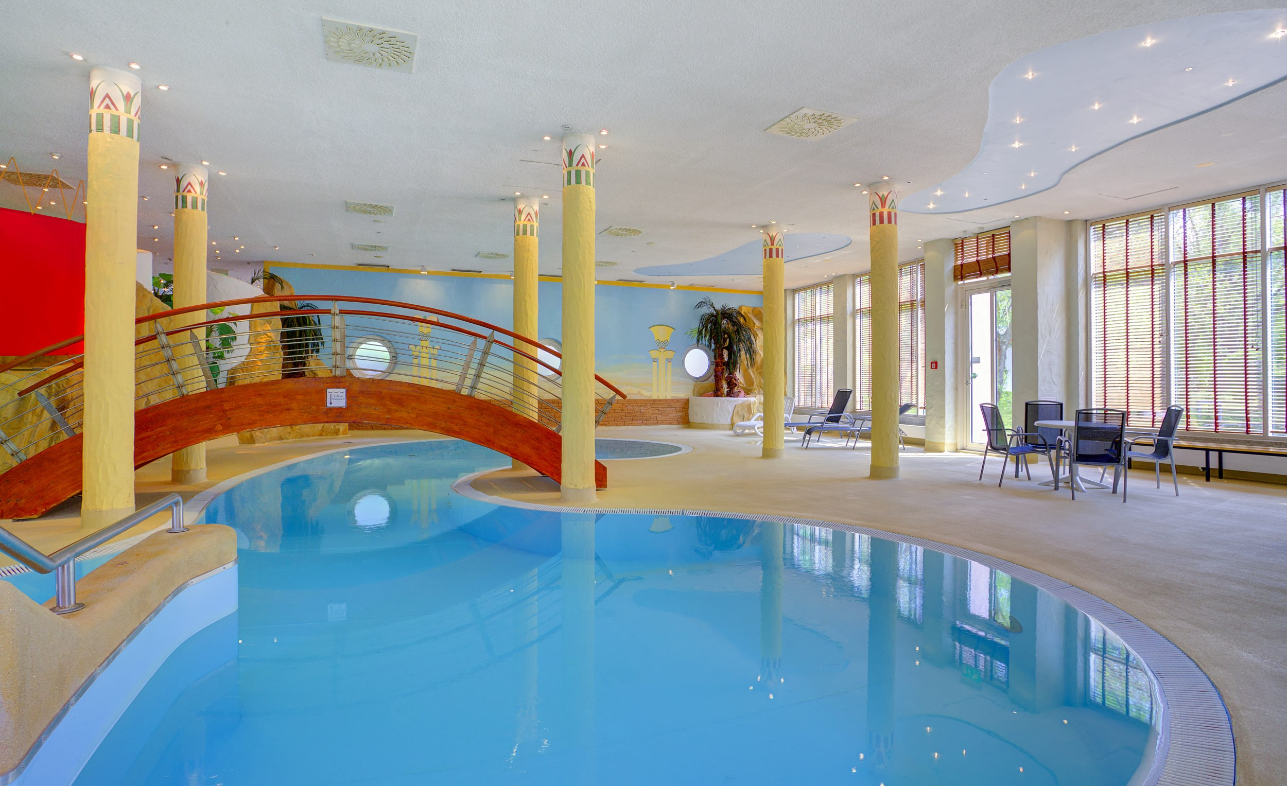 Michel Hotel Magdeburg Pool