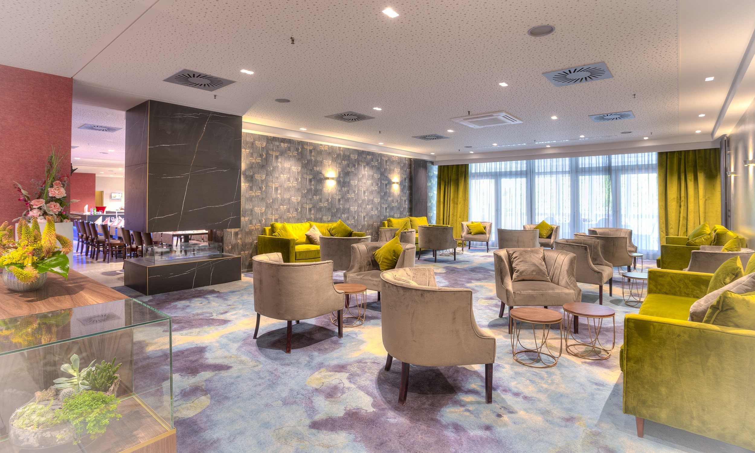 Michel Hotel Frankfurt Maintal Lounge